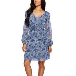 Michael Kors Women's Kinley Ruffled Wrap Dress